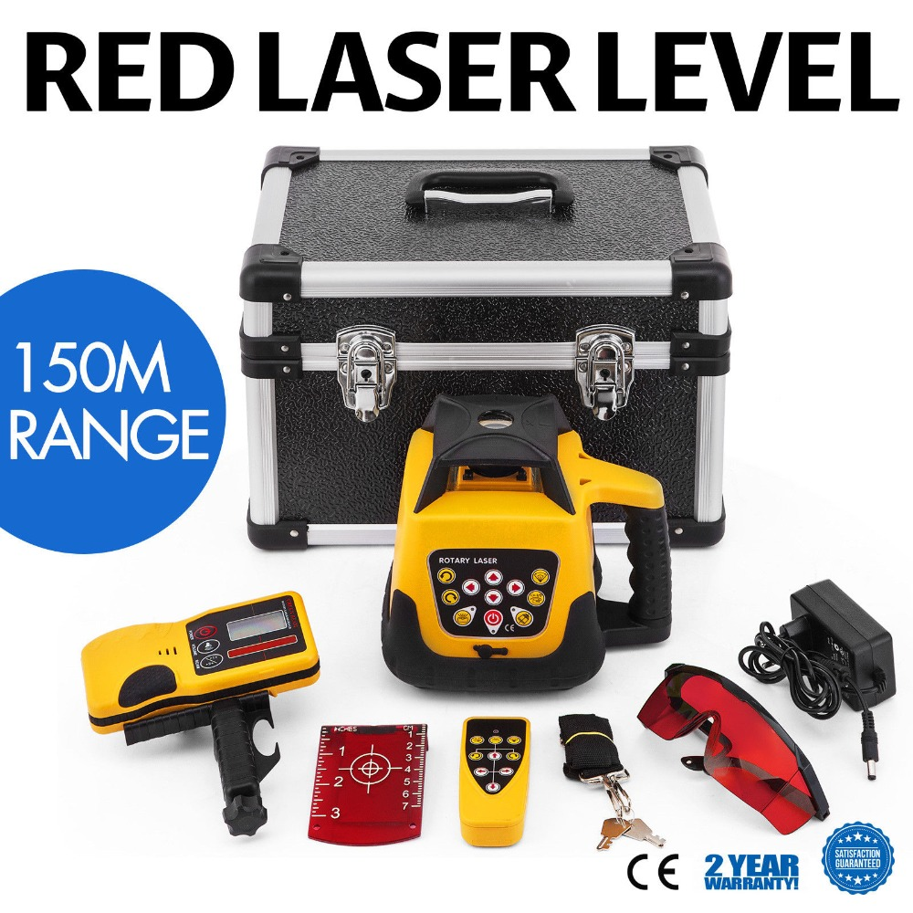 Rotationslaser Baulaser Rot 150 m Laser Ebene Linienlaser Strah Genaue Gute