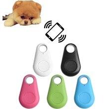 Pet Smart Mini Bluetooth gps трекер анти-потеря двусторонняя сигнализация собака кошка ключ сумка кошелек детский трекер без батареи