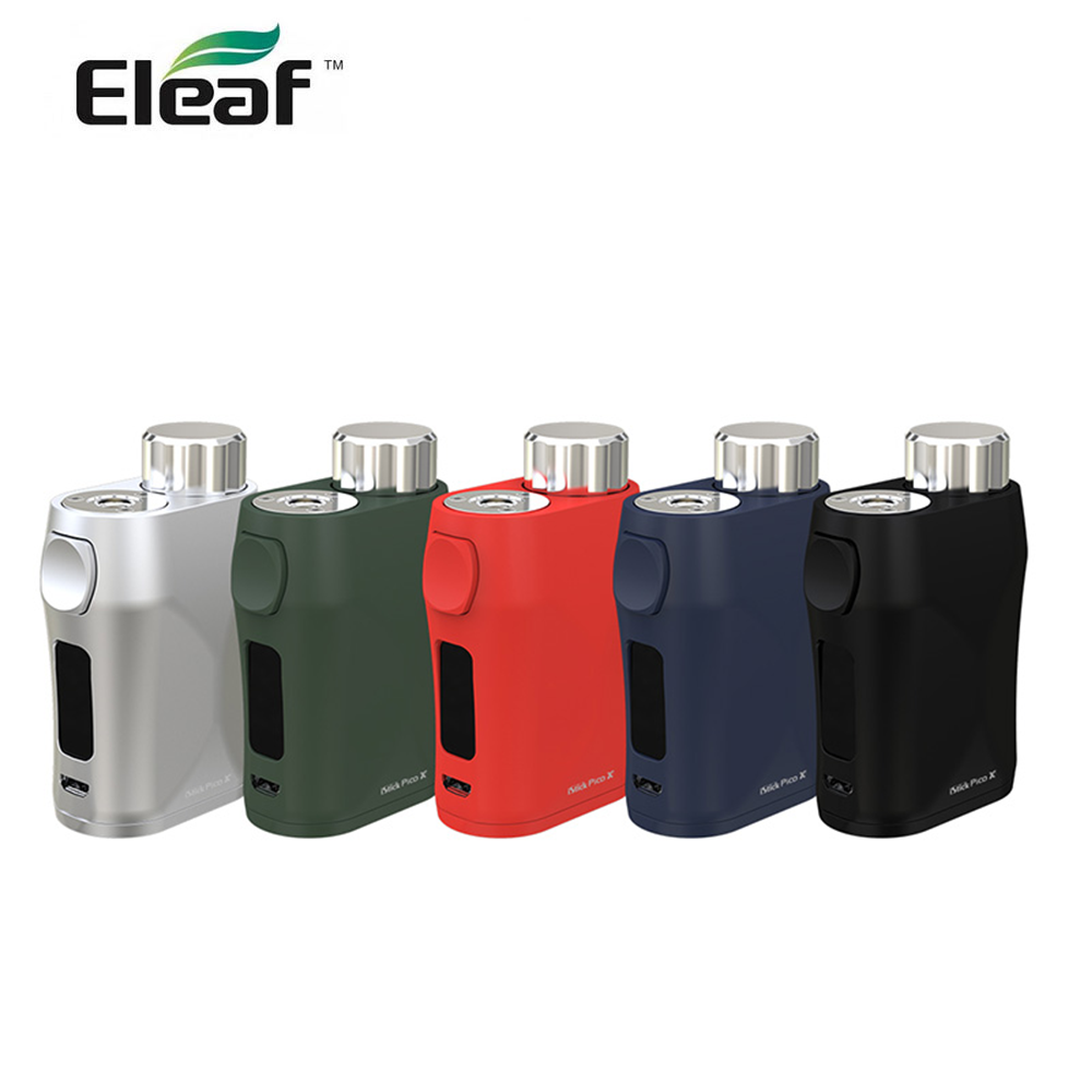 Original Eleaf iStick Pico X Mod 75W with VW Bypass mode 510 Thread e cigarette vs