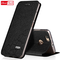 Huawei Nova Case Flip Luxury Mofi Leather For Huawei Nova Case Silicon Soft Protective Anti Knock