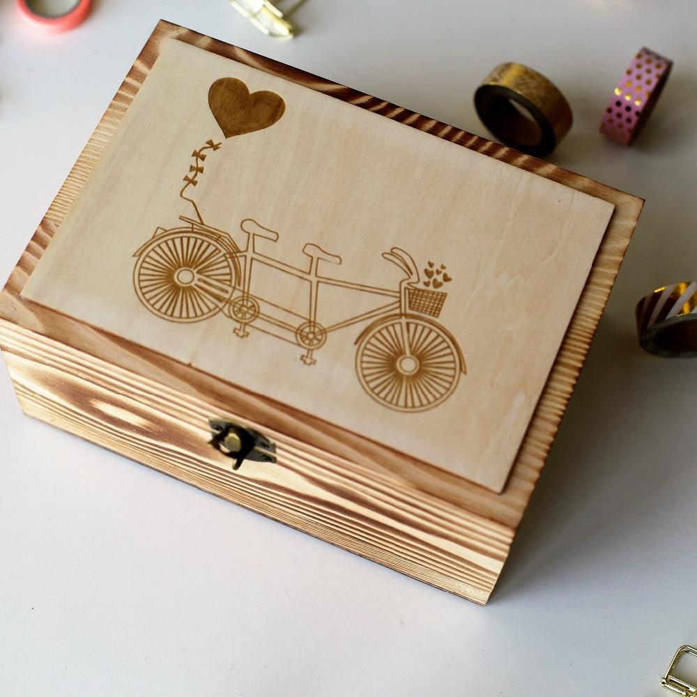 Unique Wedding Gifts Buy Online : Alternative Wedding Guest Book, Custom Wedding Box, Personalized ...