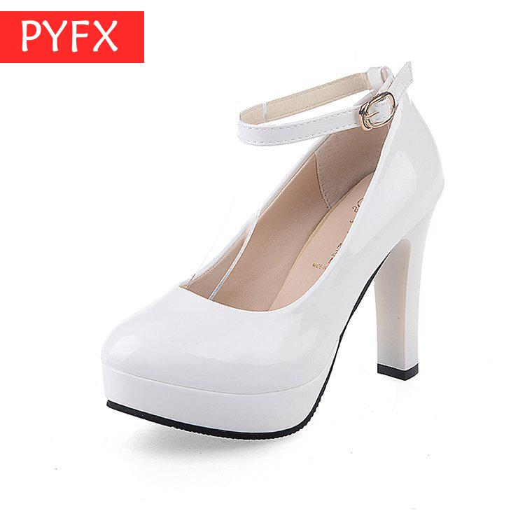 wedding Crystal Wedding Shoes Red Rough-heeled High-heeled Water Drill Shallow Elegant Sexy Womens Bottom