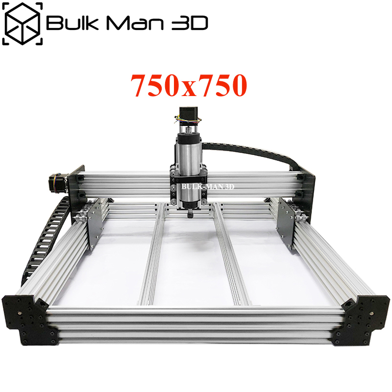 WorkBee CNC Router Machine Complete Kit 750x750mm 4Axis Wood Working CNC Engraving Milling Machine DIY CNC