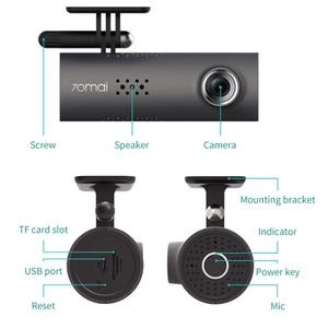 Image 5 - 70mai traço cam carro dvr wifi app controle de voz 70 mai traço cam 1s fhd 1080p visão noturna câmera do carro gravador de vídeo automático g sensor