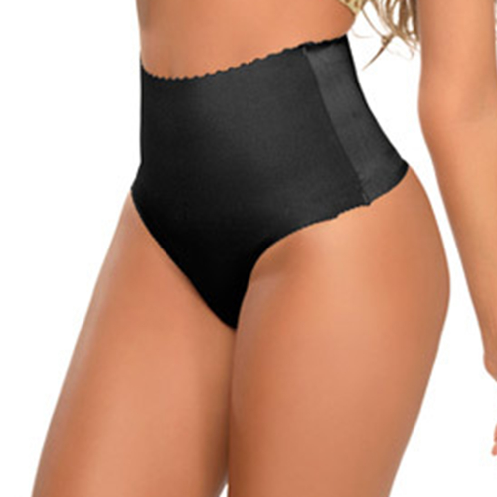 8083a04e812a Sexy Women High Waist Briefs Tummy Control Thong Body Shaper Panty Seamless  Trainer Butt Lifter Underwear Panties-in G-Strings, Thongs & Tangas from ...