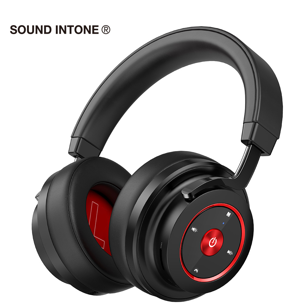 Sound Intone P20 Professional HIFI Bluetooth Headphones With Mic For Mobile Phone Subwoofer Bass Music Headsets For xiaomi iskas headphones bluetooth subwoofer ear phones bass original music technology best new free tecnologia eletronica phone good