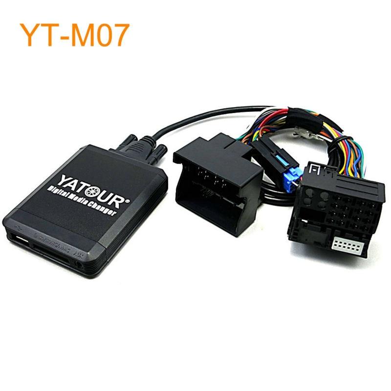 Yatour Car MP3 USB SD CD Changer for iPod AUX with Optional Bluetooth for Renault Avantime Kangoo Modus Velsatis Megane Scenic