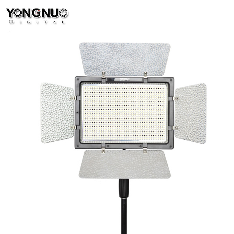 YONGNUO YN900 High CRI 5500K Video Led Panel Remote Control By Phone APP 900 LED Video Light Outside Lighting Solut Led Lighting yongnuo yn900 54w 900 led 3200k 5500k adjustable video light w filters black
