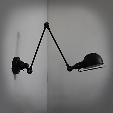 Loft Style Decorative Wall Sconce Swing Arm Bedside Lamp Industrial Vintage LED Wall Light Fixtures For Home Lighting Arandela