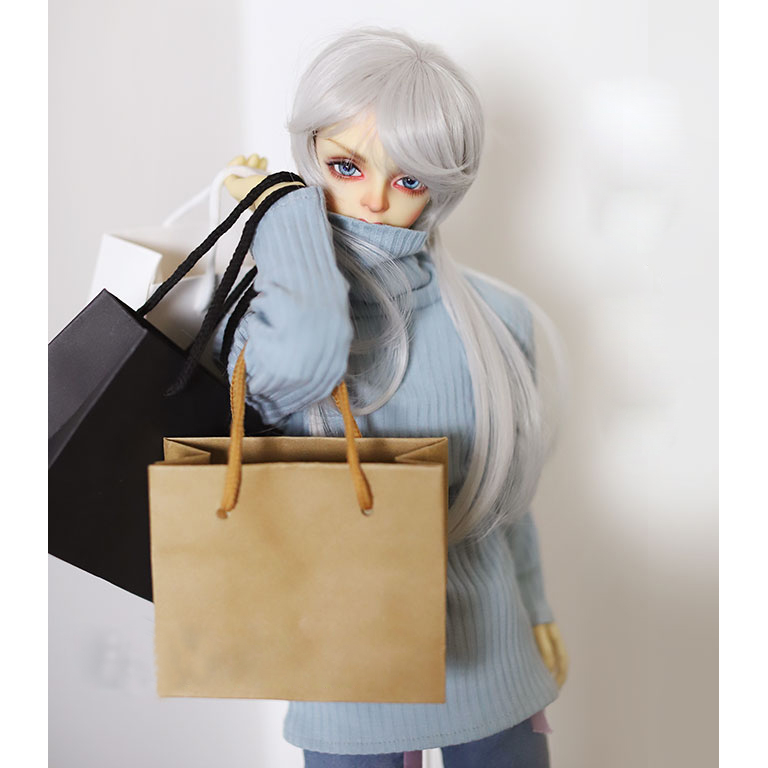 BJD Prop Mini Paper Shopping Bag Handbag Prop For 1/4 17