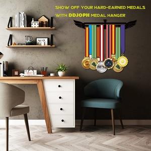 Image 2 - Sport medal hanger Medal display rack for running,swimming,gymnastics Metal medal holder for 20+ medals