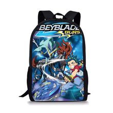 Classic Anime Beyblade  School Bags for Kids Boys Backpack Teen Cartoon Book Bag Children Cool Daily