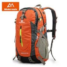 Maleroads 40L Waterproof Outdoor Camping Hiking Backpack Travel Mochilas Sport Daypack Trekking Climbing Back Bags For Men Women