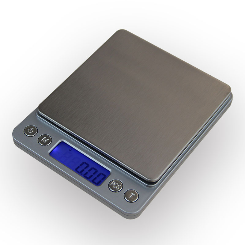 0.1g 0.01g Portable Mini Electronic Digital Scales Pocket Case Postal Kitchen Jewelry Weight Balanca Digital Scale With 2 Tray