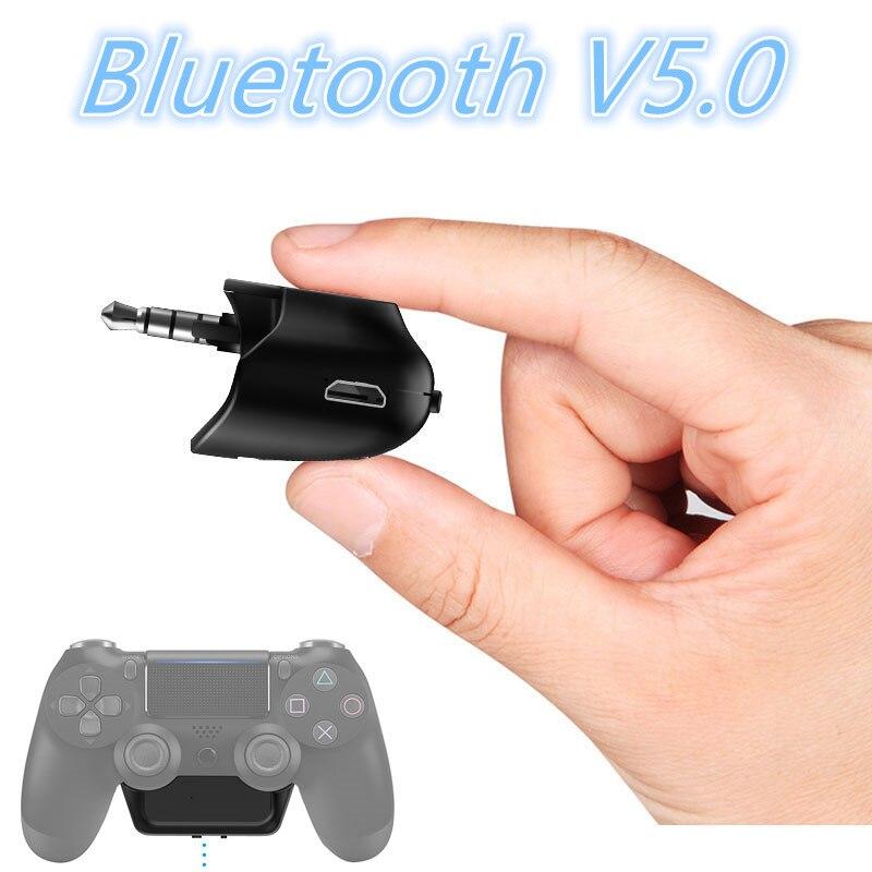 3,5mm Bluetooth V5.0 5g Audio Adapter Für Sony Playstation 4 Ps4 Drahtlose Kopfhörer Mikrofon Jede Bluetooth Headsets 2019 Neue Wohltuend FüR Das Sperma Unterhaltungselektronik Funkadapter