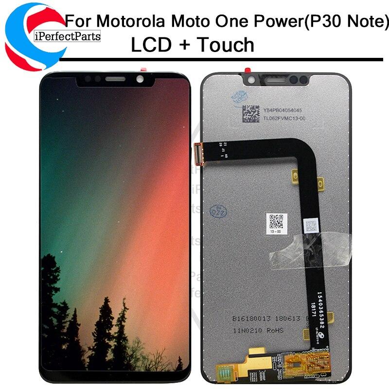 Pour Moto OnePower LCD écran affichage tactile numériseur écran en verre remplacement pour Motorola un affichage de puissance P3 note LCD