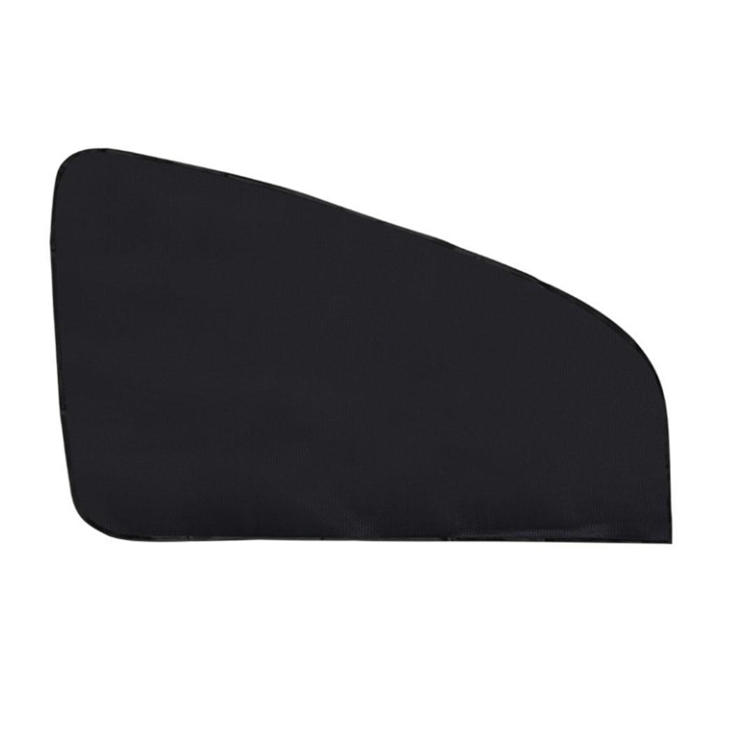 Car Window Mesh Curtain Magnetic Car Visor Sunshade UV Protection For Summer Black