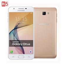 Original New Samsung Galaxy On5 G5520 2016 Unlocked Mobile Phone Dual SIM 4G LTE 5.0'' 13MP Quad Core 1280x720 Android 6.0