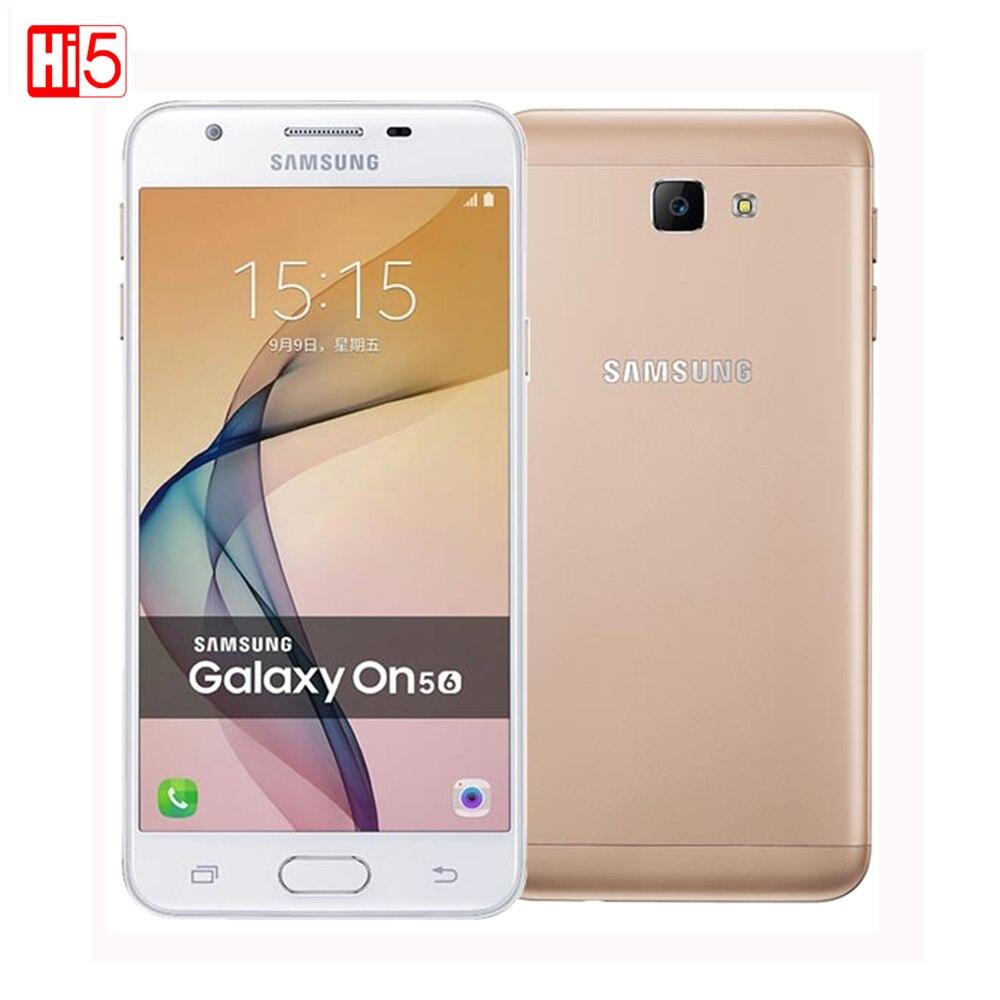 Samsung Galaxy On5 G5520 2016 Unlocked Mobile Phone Dual SIM 4G LTE 5 0 13MP Quad