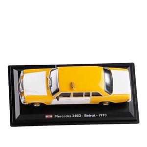 Image 5 - Высококачественная модель из ливанского сплава такси 1:43 1970, модель из металлического литья под давлением, коллекционное и Подарочное украшение, бесплатная доставка