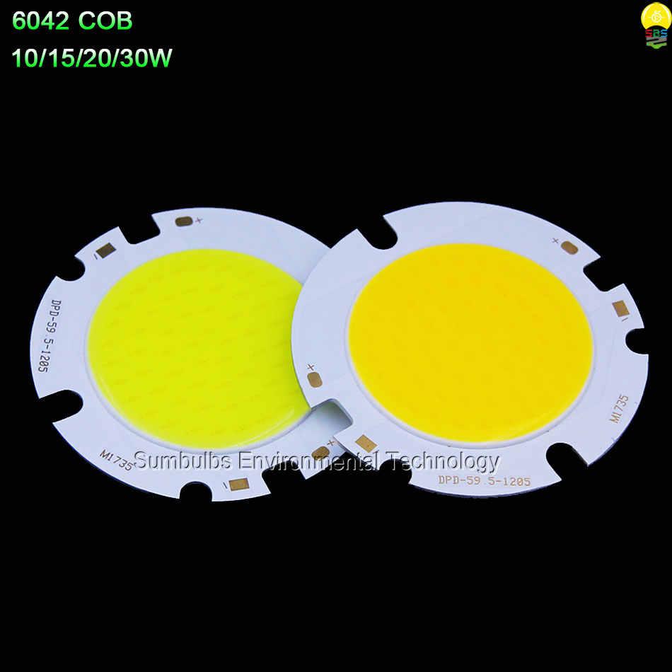 Sumbulbs Round LED COB Lighting Source Lamp Bulb 3W-200W Circular Chip On Board for Spotlight Down Lights Floodlight DIY LEDs