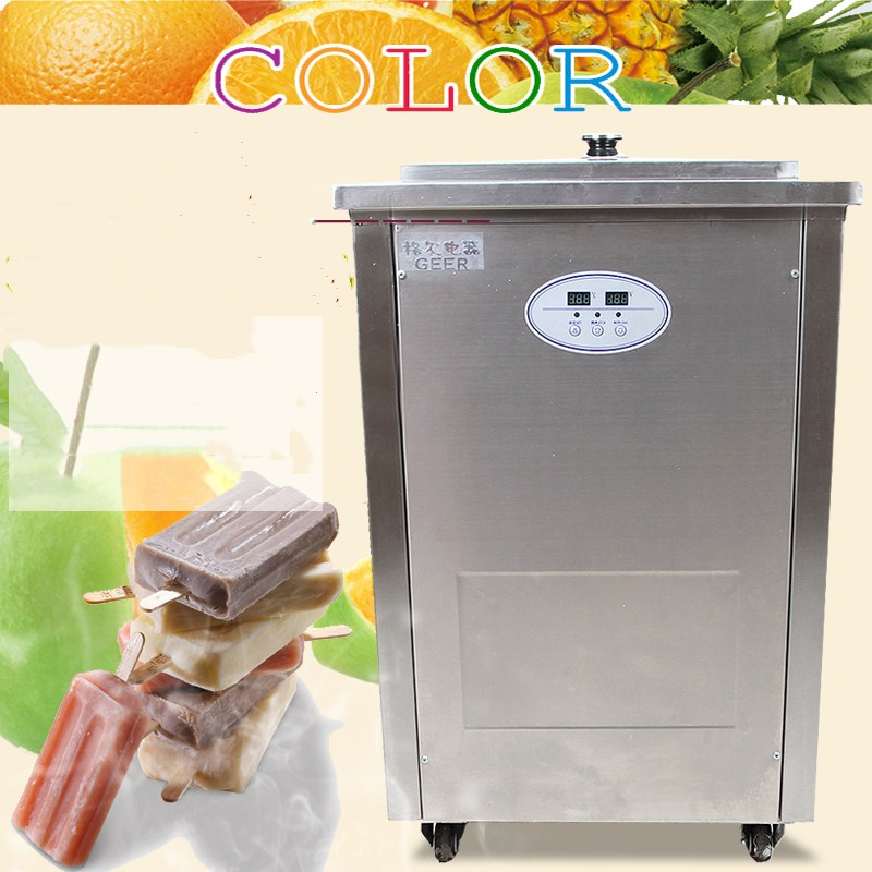 sale price  Stainless Steel Commercial Popsicle Machine Ice Cream Lolly Stick Machine,milk ice lolly-making machine free shipping to malaysia commercial ice popsicle maker stainless steel lolly machine 220v capacity about 8000 10000pcs day
