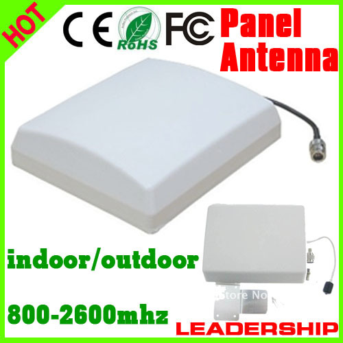 Outdoor Panel Antenna 9dBi 800mhz-2500MHz GSM 3G WIFI DCS WCDMA UMTS  Cell Phone Booster Antenna 3G Antenna  Indoor Antenna