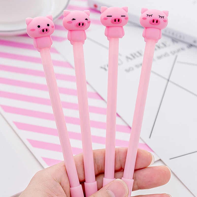 24 шт. милая розовая ручка с рисунком из мультфильма нейтральная для девочек