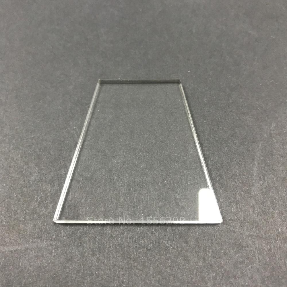 "Laser Cut Acrylic Clear Shapes 1/8"" Thick,Blank Acrylic Discs DIY Craft Accessories Bulk"