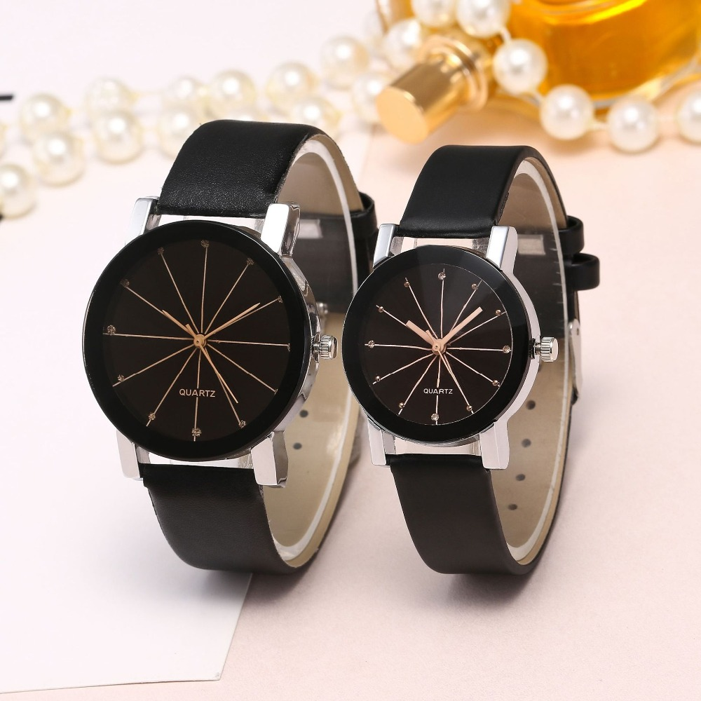 Big Brand Design Women Quartz Watch Casual Wristwatches Fashion Ladies Leather Watch цена и фото