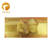 Home Decor Chile 20.000 Pesos Color Gold Banknote NEW Golden Bank Note 10pcs/lot Drop Shipping rombai chile