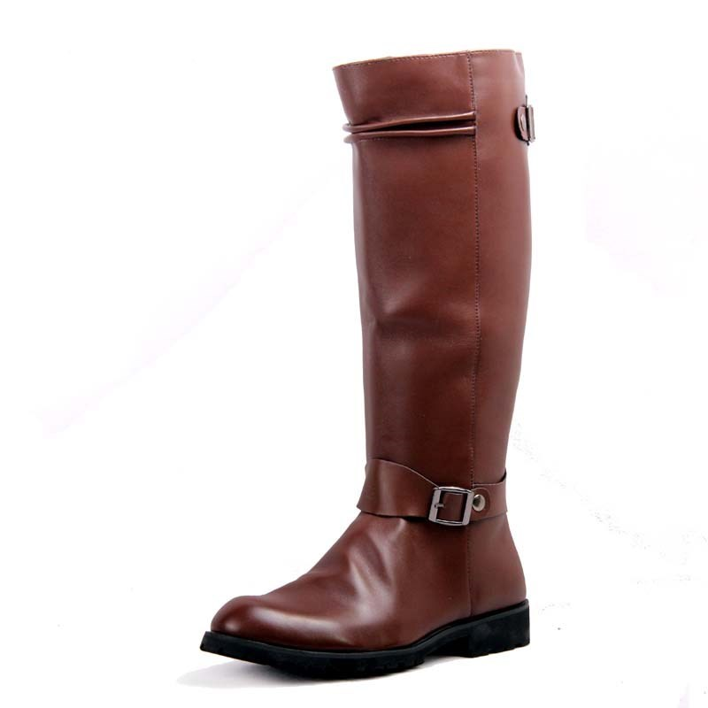 2018 genuine Leather Martin Boots Fur Martin High Top Casual Shoes Men Boots over the knee Botas Brand Motorcycle Boots 2017 genuine leather martin boots fur martin high top casual shoes men boots over the knee botas brand motorcycle boots