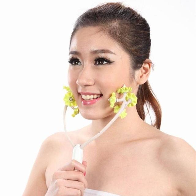 Znalezione obrazy dla zapytania rolki masaż twarzy japoński