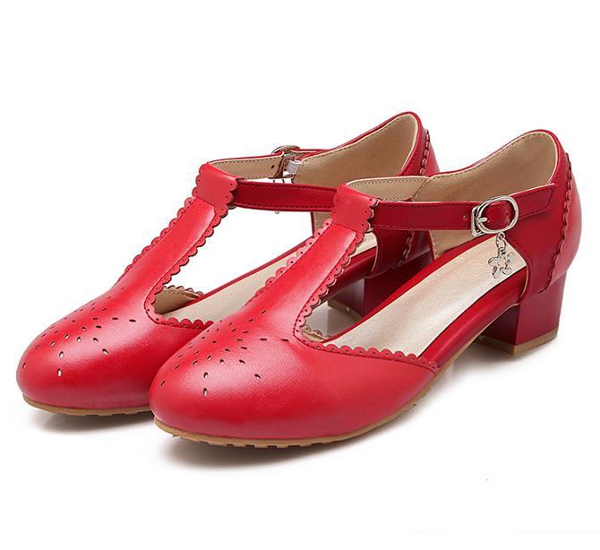 Cheap Low Heel Pumps | Tsaa Heel