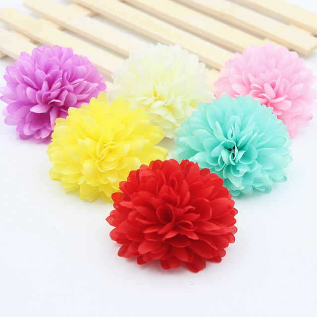 2pcslot beautiful artificial chrysanthemum silk flowers for wreath 2pcslot beautiful artificial chrysanthemum silk flowers for wreath hat home garden wedding party diy mightylinksfo
