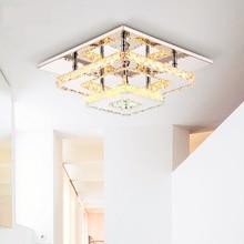 Современные Crystal LED Потолочные светильники Светильник Для Внутреннего Лампы lamparas де techo Поверхностного Монтажа Потолочный Светильник кристалл лампы потолок