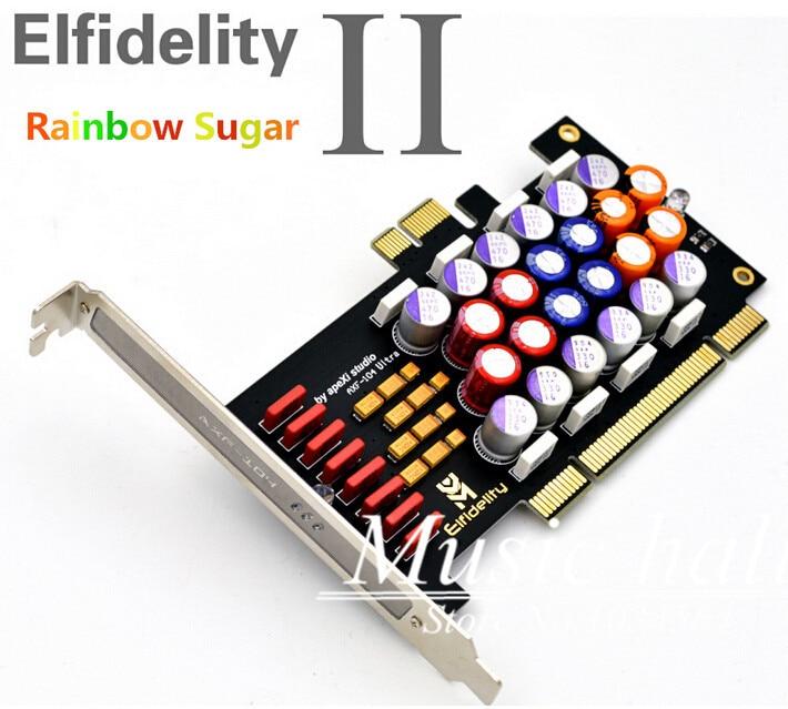 Music Hall Elfidelity PC HI FI Power Filter card PCI PCI E HiFi PC audio power