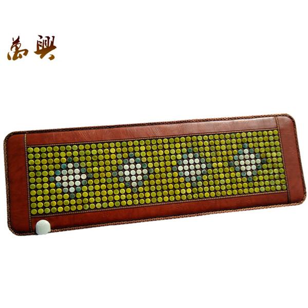 Good & Free shipping! Natural Jade Cushion Germanium Stone Tourmaline Heated Mat Jade Health Care Physical Therapy Mat 150x50cm best selling korea natural jade heated cushion tourmaline health care germanium electric heating cushion physical therapy mat