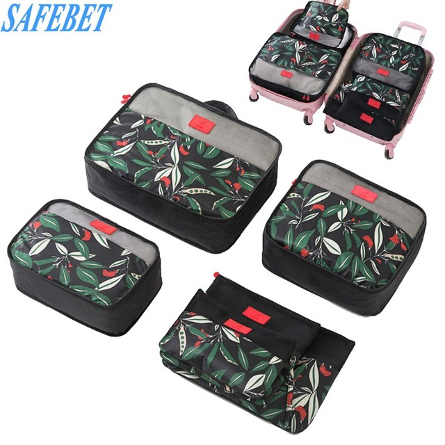 0452c3bc183a US $13.99 40% OFF|SAFEBET 6PCS Waterproof Travel Storage Bag Set For  Clothes Tidy Organizer Pouch Suitcase Home Closet Divider Container  Organiser-in ...