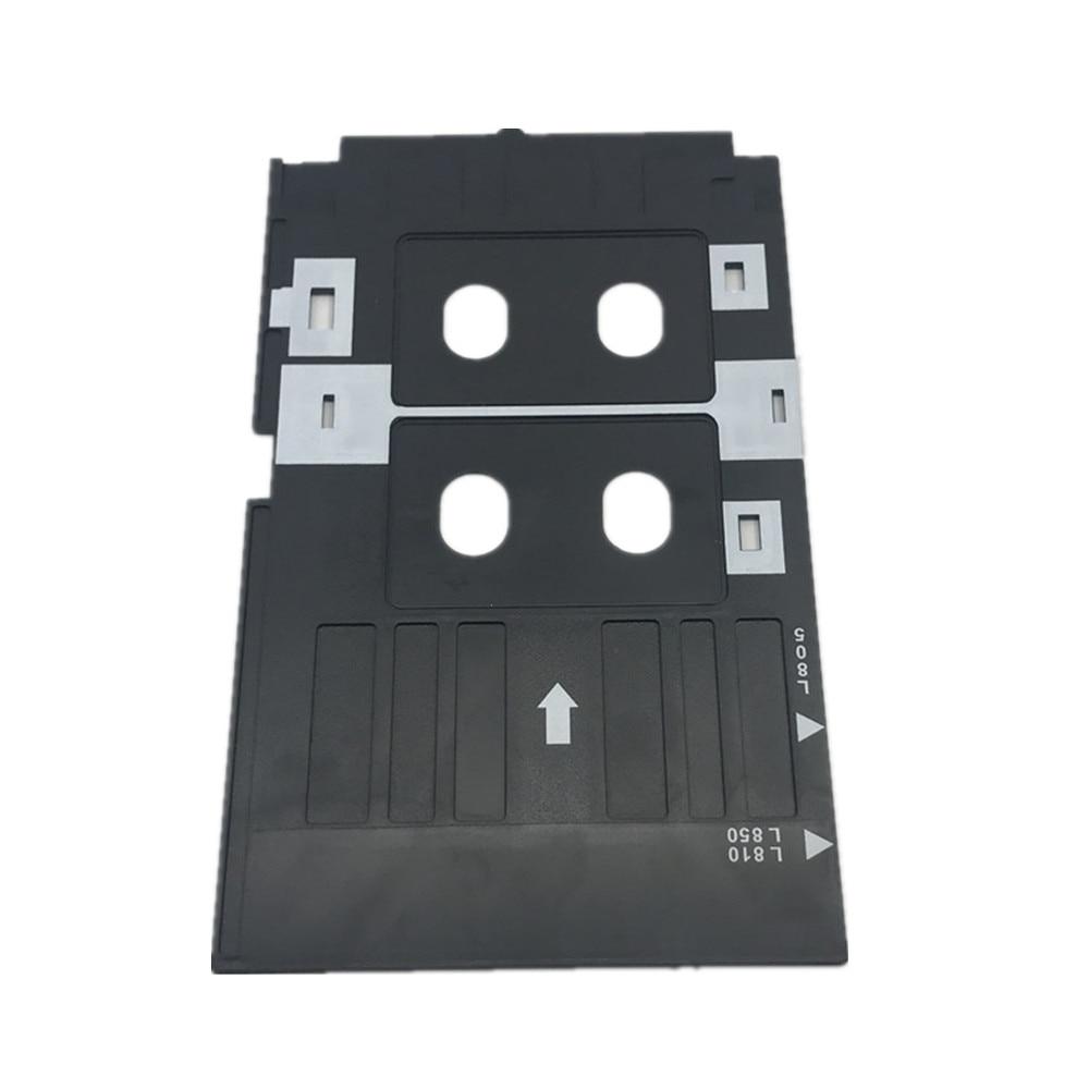 5X PVC ID Card Tray Plastic Card Printing Tray for Epson R260 R265 R270 R280 R290 R380 R390 RX680 T50 T60 A50 P50 L800 L801 R330