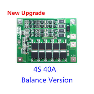 Image 1 - Upgrade 4S 40A Li ion Lithium Battery 18650 Charger PCB BMS Protection Board with Balance For Drill Motor 14.8V 16.8V Lipo Cell