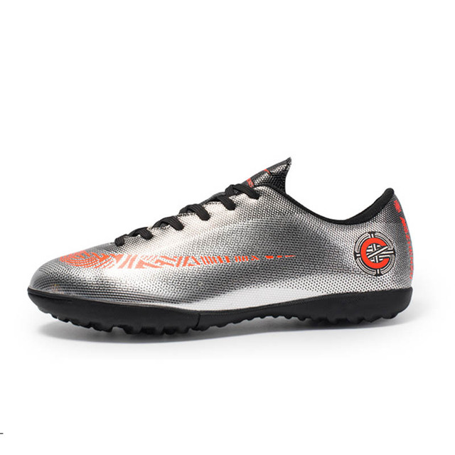 f557fad20 New Artificial Turf Training Shoes Broken Nails Soccer Shoes Gold Boots  Sneakers Children Boots Sale Soccer Sneakers For Kids