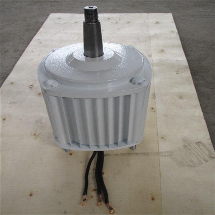 500W 400RPM 12V/24V/48V low rpm horizontal wind & hydro alternator/ permanent magnet water power dynamotor hydro turbine