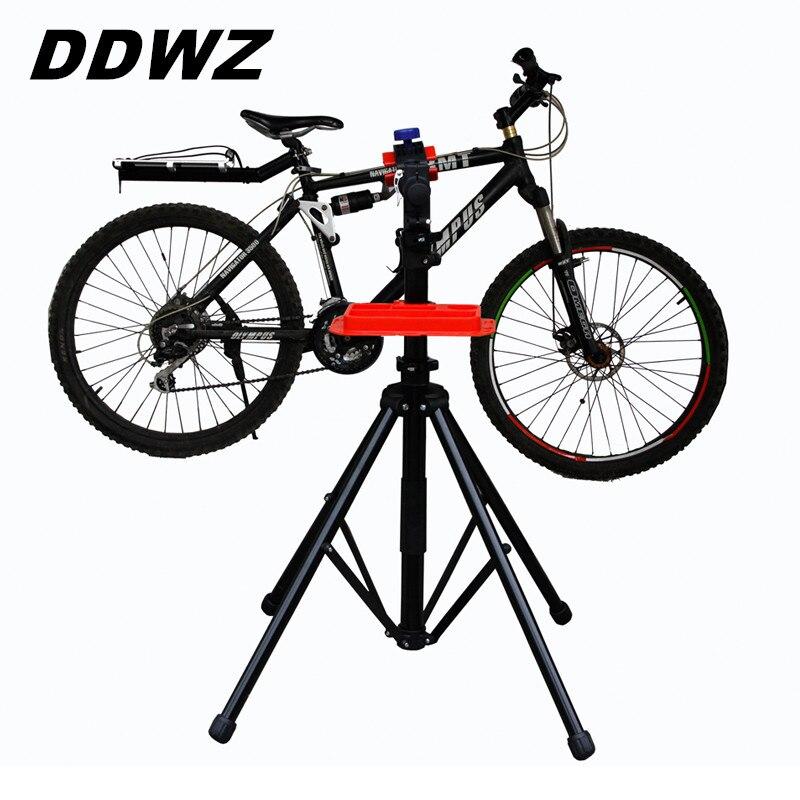 Support de réparation de vélo en aluminium béquille ailes béquille vélo support de vélo de montagne outil de réparation de vélo accessoires de stationnement cintre