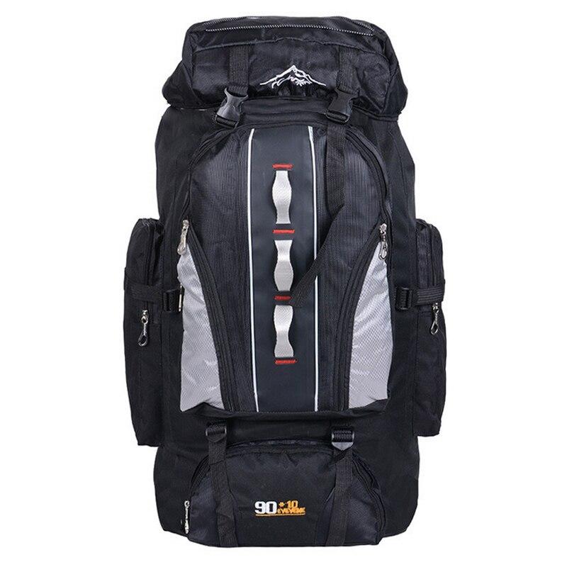 Prix pour Fengtu En Plein Air alpinisme sacs 90L + 10 Lwater Alimentation de répulsif nylon épaule sac hommes et femmes voyage randonnée camping sac à dos 100L