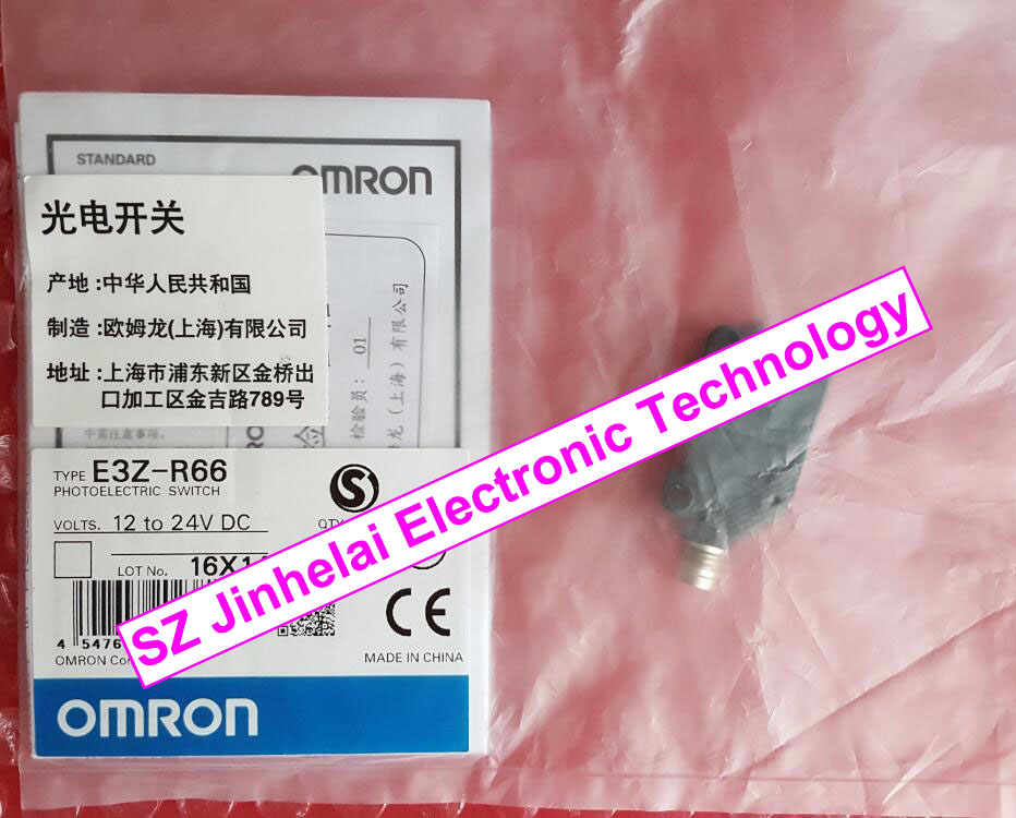 New and original  E3Z-R66  OMRON Photoelectric switch new and original e3z b61 e3z b62 omron photoelectric switch photoelectric sensor 2m 12 24vdc
