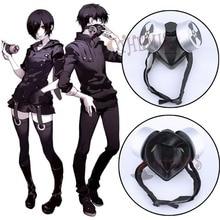 Athemis New Arrival Tokyo Ghoul Kaneki Ken Cosplay Mask Unique Gas Mask Anti-poison Respirator Same as Original Anime Cosplay