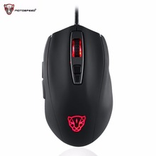 Motospeed Wired 5000DPI Gaming Gamer Mouse USB Wired Optical RGB Backlit Mouse for Laptop PC Support Windows System
