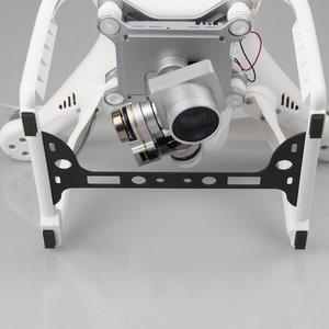 Image 3 - 1pc 카메라 플레이트 커버 홀더 탄소 섬유 보호 보드 짐벌 가드 수호자 dji 팬텀 3 예비 부품 액세서리