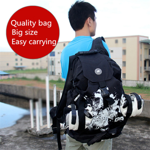 Image 2 - Quality outdoor roller skate shoes backpack with big size for sports camping mens backapck or womens for a variety of venues